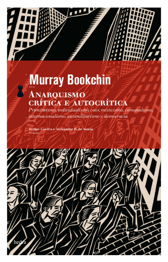 Anarquismo (Murray Bookchin. Editora Hedra) [POL042010]